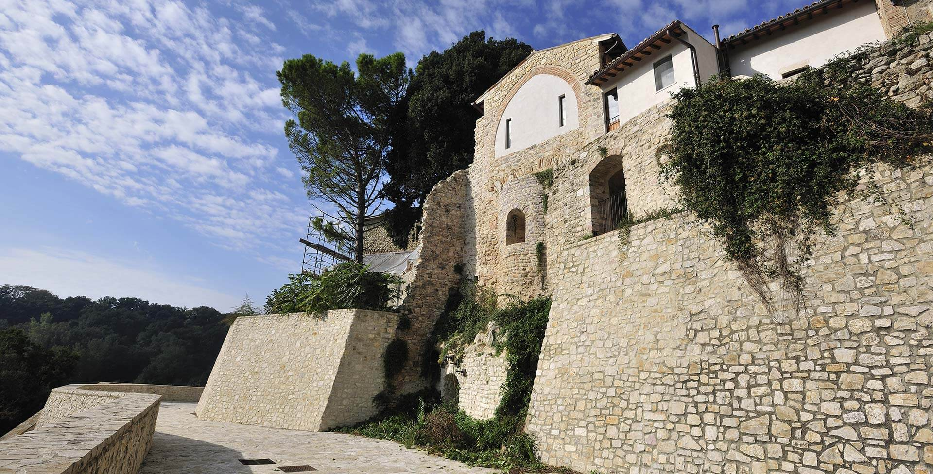 "Reparation works on the damages and seismic rehabilitation of the parochial church ""San Sebastiano a Castel Rinaldi"""