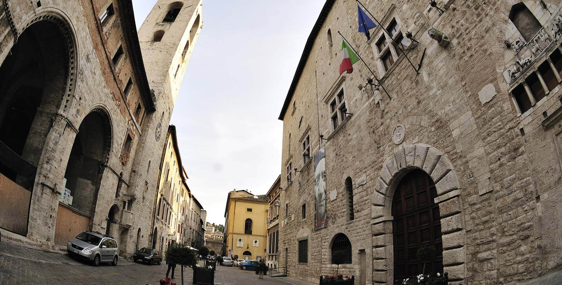 "Works for seismic improvement, functional recovery and restoration of ""Palazzo Comunale"""