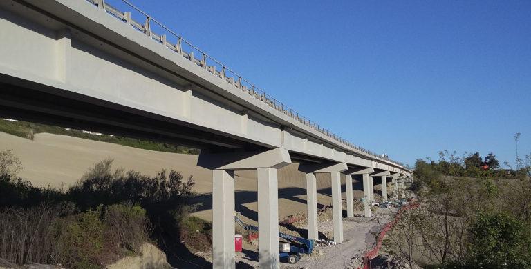 """Intervento di riparazione del viadotto """"Barcaglione"""""""
