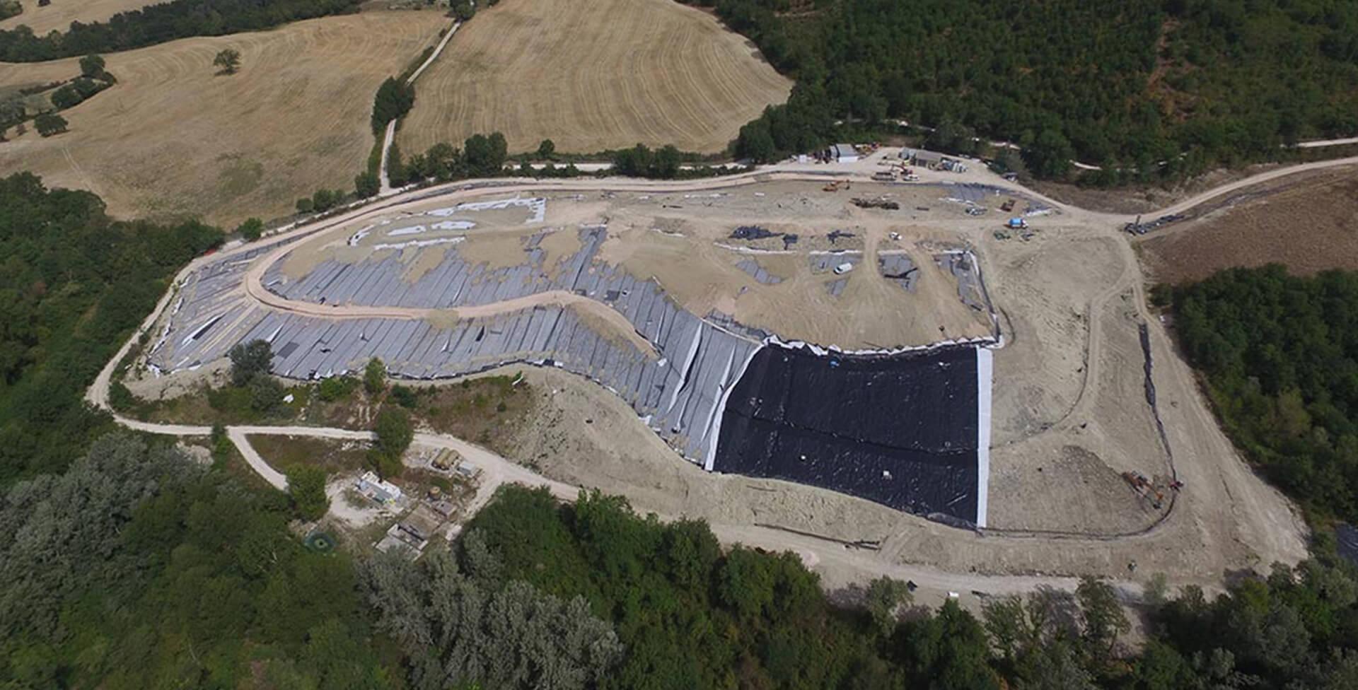 """Closure and environmental rehabilitation of the landfill (for non-dangerous waste) in """"Località Cà Guglielmo"""""""